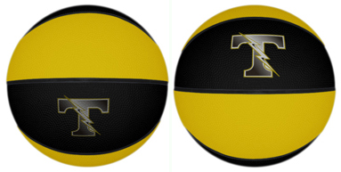 Rubber basketballs for high school basketball camp. Official size and intermediate size basketballs for sale.